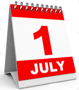 1 juli 2017