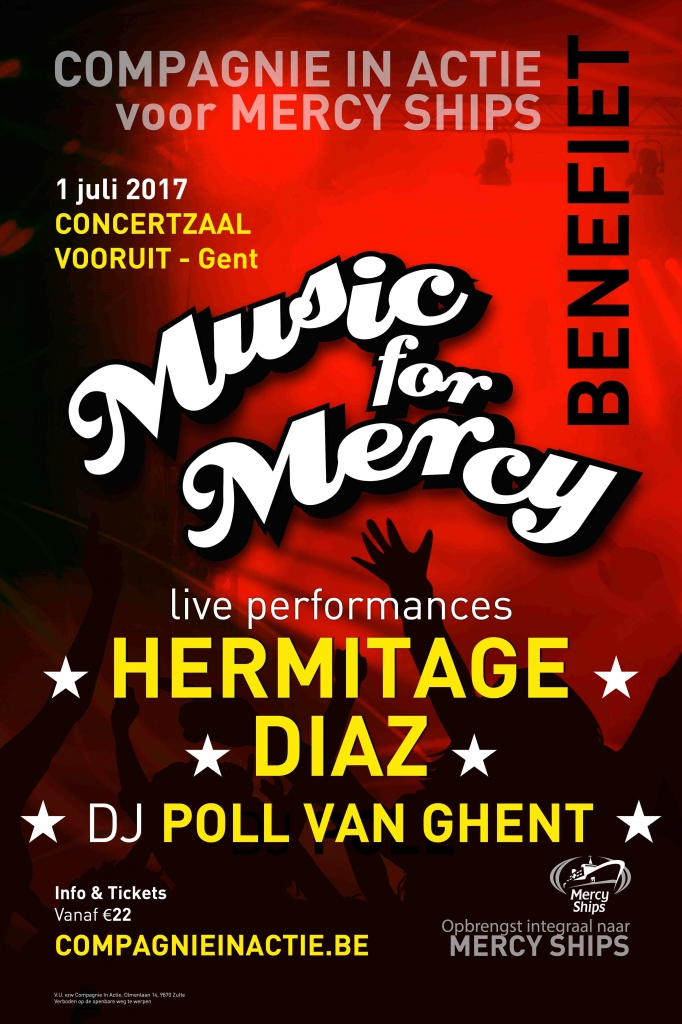 Affiche Music for Mercy