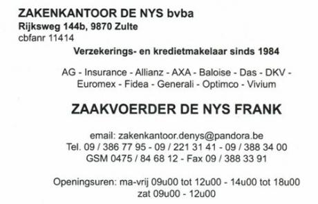 Logo zakenkantoor De Nys